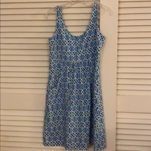 Sleeveless comfortable sundress
